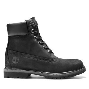 Classic black Timberlands perfect condition!
